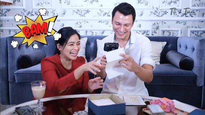 Baca Surat Cinta untuk Christian Soegiono saat Pacaran Tahun 1999, Titi Kamal Ngakak: Dangdut Banget