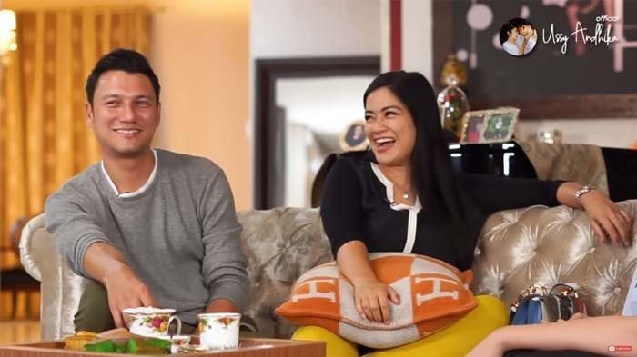 Christian Sugiono Tak Tahu Seblak, Titi Kamal Ngakak Dengar Ucapan Suami : Kok Makanan Korea?