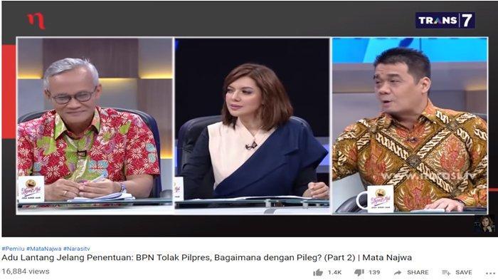 TKN Tertawa Lihat Reaksi BPN Saat Ditanya Soal Tolak Pileg, Sempat Ungkit Kecurangan di Malaysia