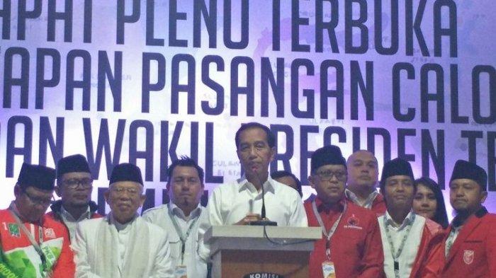 Jumat Besok, TKN Jokowi-Maruf Amin Resmi Bubar
