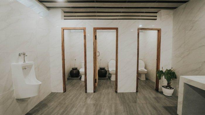 Toilet new normal Kebun Raya Cibodas