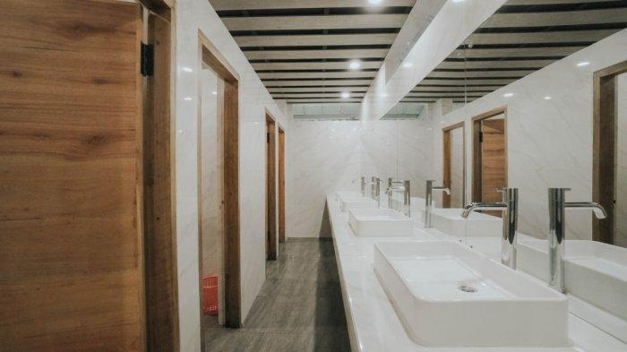 Toilet era new normal Kebun Raya Cibodas