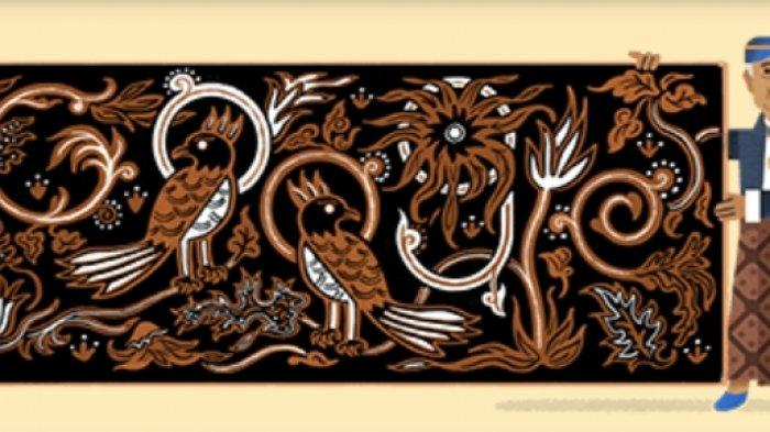 Sosok Google Doodle Hari Ini, Go Tik Swan Pelopor Batik Nusantara Keturunan Tionghoa