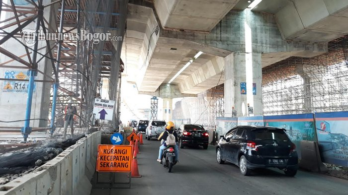 Tiang Tol Becakayu Ambruk, Pembangunan Tol BORR Seksi II B Tetap Berjalan