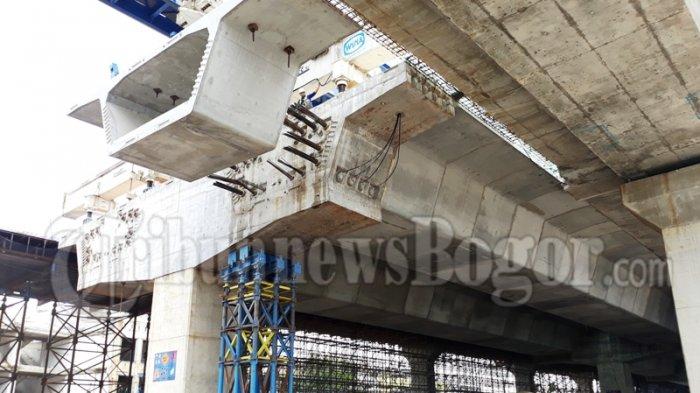 Pemasangan Beton Tol BORR Dilakukan Siang Hari, Warganet Ngeri
