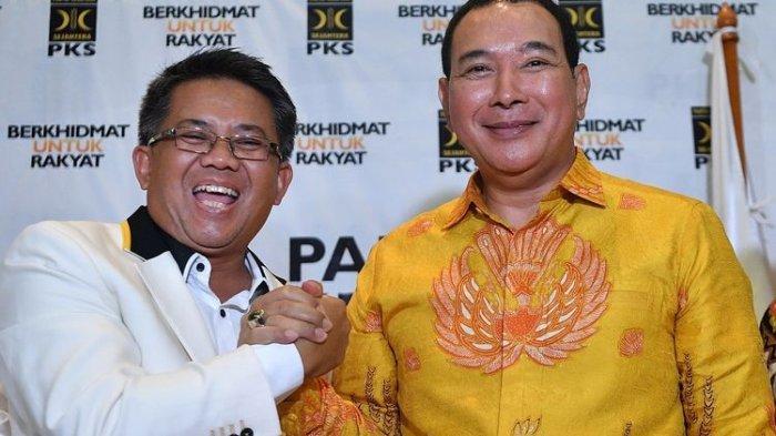 Tommy Soeharto Bertemu Elite PKS, Siap Jadi Oposisi Pemerintahan Jokowi