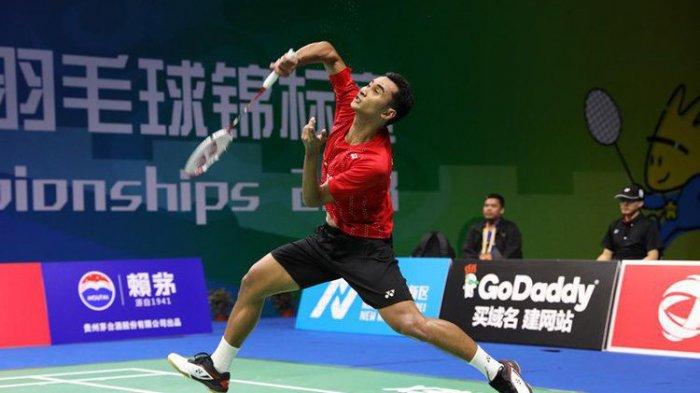 Tommy Sugiarto Lolos ke Babak Kedua Fuzhou China Open 2018