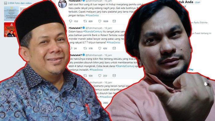 Fahri Hamzah Bahas Dana Kasus Bank Century, Diminta Diam Oleh Tompi : Sesekali Jadilah Pemberi Maaf