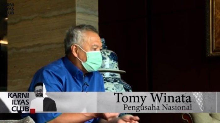 Sering Dituduh sebagai Mafia di Indonesia, Tomy Winata : Saya Menikmati Kita Diperhitungkan
