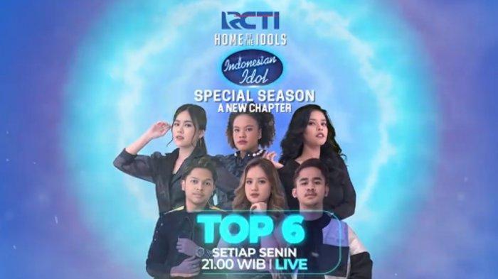 Bocoran Indonesian Idol 8 Maret, Ini Daftar Lagu yang Akan Dibawakan Kontestan Top 6 Nanti Malam
