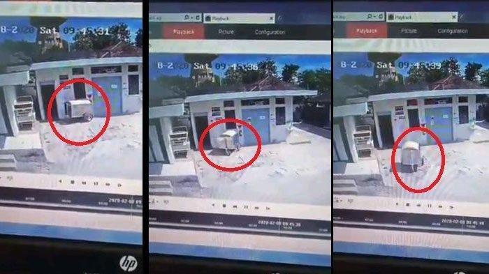 Viral Gerobak Medis Tiba-tiba Bergerak di Siang Bolong Terekam CCTV, Ini Kata Pihak Rumah Sakit