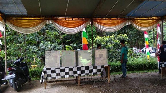 Persiapan Pilwalkot Bogor Besok, TPS 19 Di Gang Kelor Akan Dekor Dengan Konsep Piala Dunia