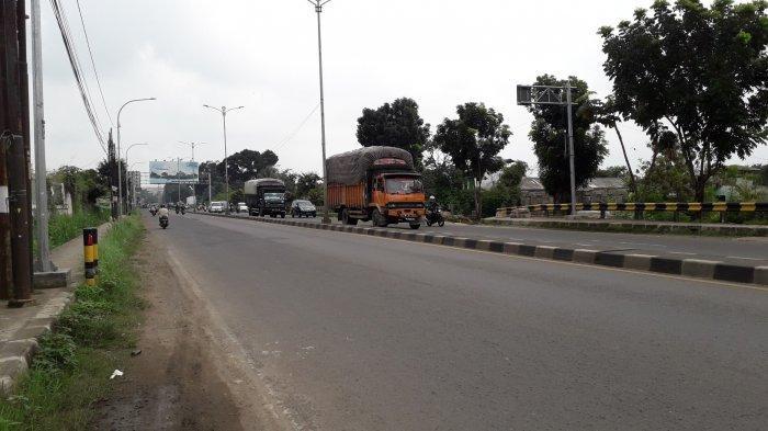 Info Lalu Lintas Jalan Raya Jakarta-Bogor, Ramai Depan Kantor Dishub