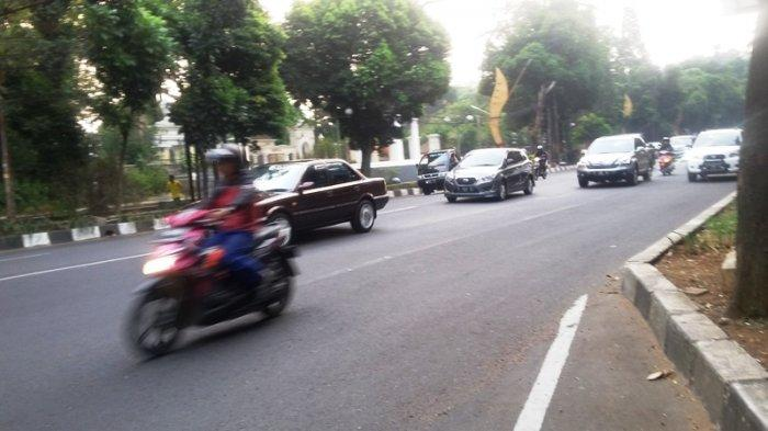 Kamis Sore, Laju Kendaraan di Jalan Pajajaran Bogor Lancar Arah Sukasari