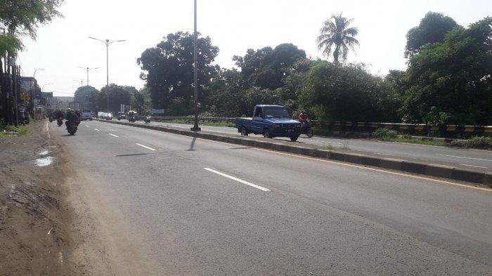 Update Lalu Lintas Kendaraan di Jalan Raya Jakarta - Bogor, Kawasan Sukaraja Saat Ini Ramai Lancar