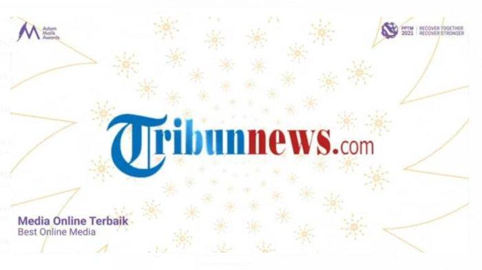 Adam Malik Awards 2021 - Tribunnews.com Raih Penghargaan Kategori Media Online Terbaik