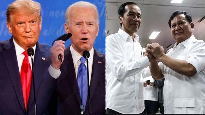 Trump Klaim Menang Pilpres Lawan Biden, Disebut Mirip Jokowi vs Prabowo, Tifatul: Kalah Jadi Menhan