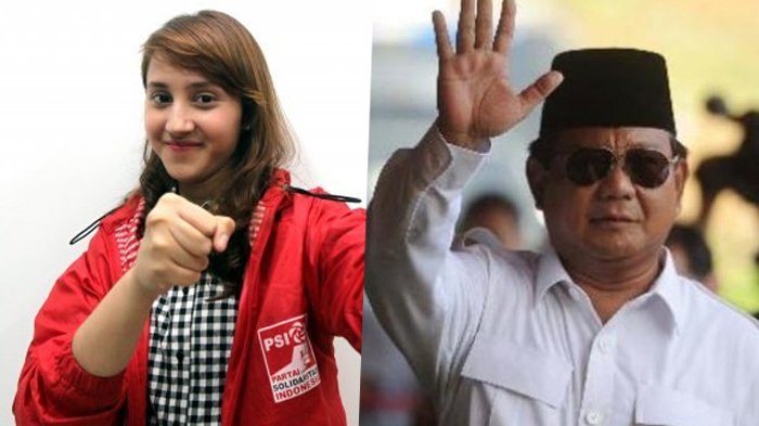 PSI Disebut Goreng Isu Tampang Boyolali Prabowo, Tsamara Amany Heran : Aduh yang Ngomong Capresnya