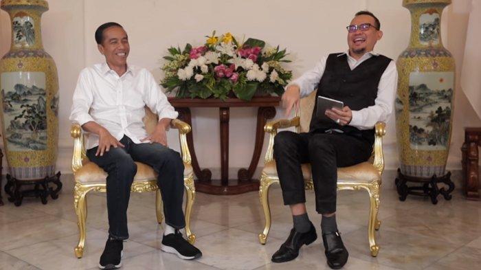 Bandingkan Sikap Iriana dengan Istri Cak Lontong, Jokowi Punya Pesan Khusus untuk Istri Saat Belanja