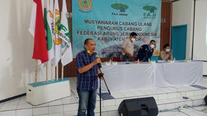 Terpilih Secara Aklamasi, Tubagus Wajedi Nur Kembali Menjabat Ketua FAJI Kabupaten Bogor