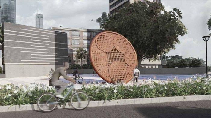 Modal Rp 800 Juta, Pembangunan Tugu Sepeda Anies Baswedan Kini Mangkrak