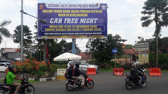 Satlantas Polres Bogor Tak Mau Repot, Motor yang Masuk Puncak Saat Malam Tahun Baru Akan Dibatasi