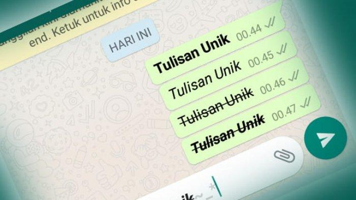6 Cara Ubah Format Tulisan di WhatsApp: Mulai dari Tebal, Miring hingga Tulisan Warna-warni