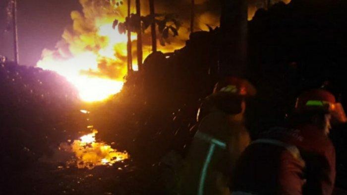 Mess Karyawan Ikut Hangus Dalam Kebakaran di Gunungputri, Polisi Pastikan Tak Ada Korban Jiwa