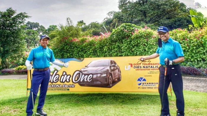 Dua Mantan Menteri Ramaikan UI Charity Golf Tournamen di Bogor