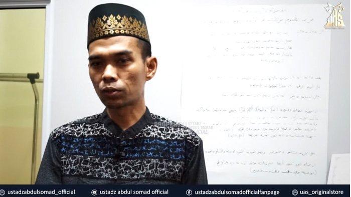 Sempat Positif Covid-19, Ustaz Abdul Somad Tulis Wasiat untuk Anak : Saya Menyangka Akan Meninggal
