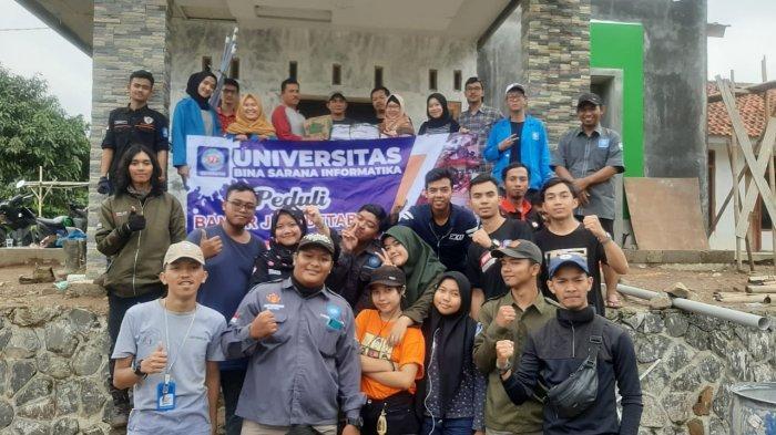 Bantu Korban Longsor, UBSI Salurkan Bantuan ke Sukajaya Bogor