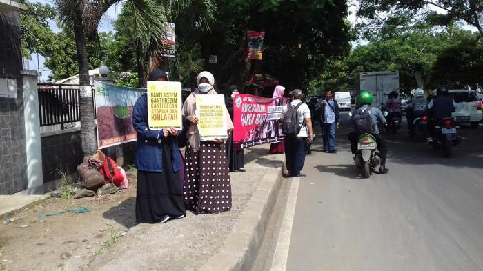 Aksi Damai Mahasiswa UIKA Bogor, Islam Itu Indah dan Damai