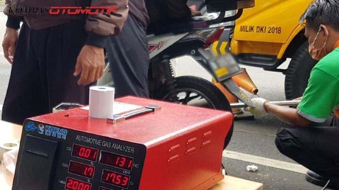 DLH DKI Jakarta Gelar Uji Emisi Motor Gratis, Catat Ini Tempat dan Waktunya