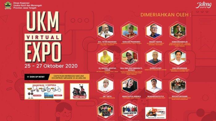 Sebanyak 104 produk UKM Jateng telah memajang produknya dalam pameran virtual bertajuk 'UKM Virtual Expo' yang akan berlangsung pada 25 – 27 Oktober 2020.