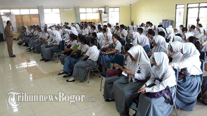 Sudah Minta Restu orangtua, Siswa SMKN 3 Kota Bogor Hadapi UNBK Hari Pertama Tanpa hambatan