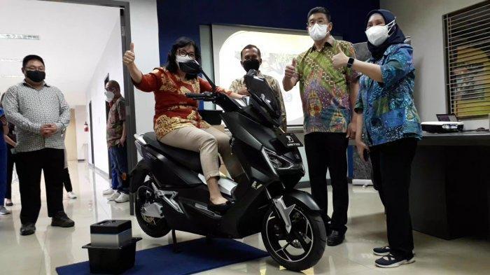 Penampakan United E-Motor T1800 di Bogor, Bodinya Diproduksi Libatkan Industri Kecil