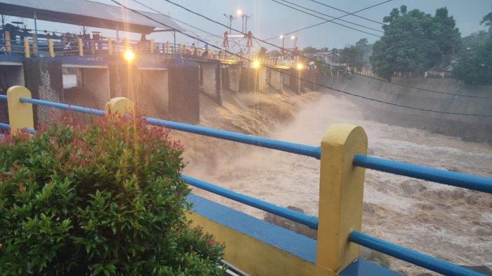Update Kondisi Bendung Katulampa Bogor, Tinggi Muka Air Sore Ini Naik