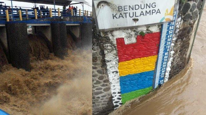 Pantau Kenaikan Debit Sungai Ciliwung, Petugas Bendung Katulampa Siaga 24 Jam