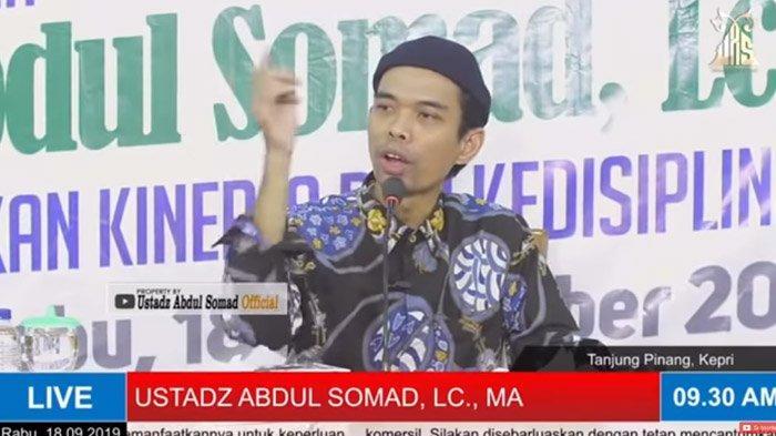 Bahas Soal Pengertian Radikalisme, Ustaz Abdul Somad Sebut Nama Habib Rizieq dan Teuku Zulkarnain