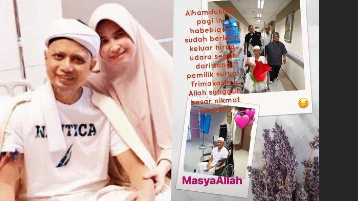 Innalillahi wa Inna Ilaihi Rojiun, Arifin Ilham Meninggal, Aa Gym dari Mekkah Terperanjat dan Berdoa