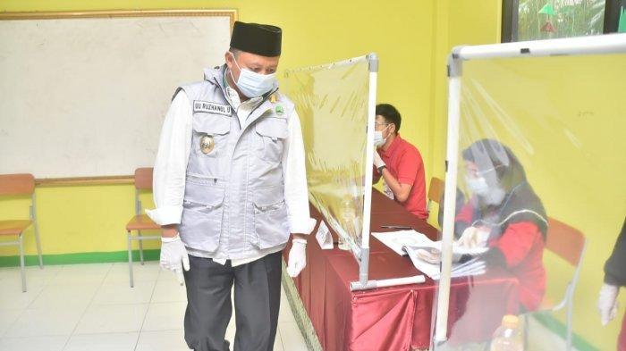 Tinjau Pilkades di Bogor, Wagub Jabar : Mudah-mudahan Tidak Ada Klaster Baru