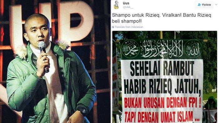 Lagi-lagi Uus Dibully Netizen Gara-gara Cuitkan Ini Untuk Rizieq Shihab, Netizen: Nyinyir Banget