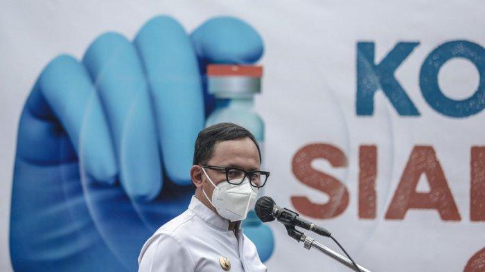 Bima Arya pun mengunjungi Rumah Sakit Umum Daerah (RSUD) Kota Bogor untuk memberikan motivasi bagi para tenaga kesehatan