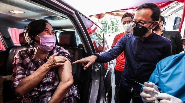 Alhamdulilah, Lansia di Kota Bogor Hari Ini Mulai Divaksin Secara Drive Thru