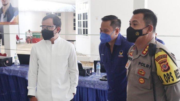 Pantau Vaksinasi Massal Partai Nasdem, Bima Arya : Capaian Kota Bogor Baru 30 Persen