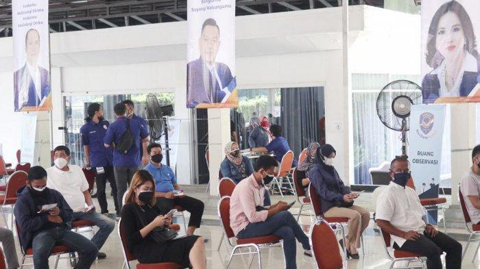 vaksinasi massal DPD Nasdem Kota Bogor