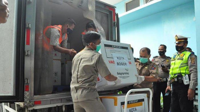 Vaksin Sinovac untuk Suntikan Kedua Tiba di Kota Bogor