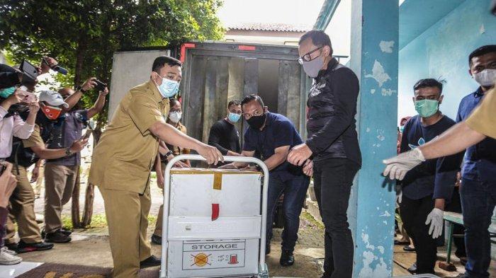 Wakil Wali Kota Bogor dan Ketua DPRD Jalani Proses Screening Sebelum Divaksin Covid-19