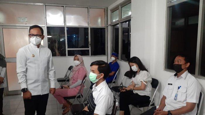 Hari Pertama Vaksinasi di Kota Bogor, Bima Arya Tinjau RSUD, Pastikan Garda Terdepan Dapat Vaksin