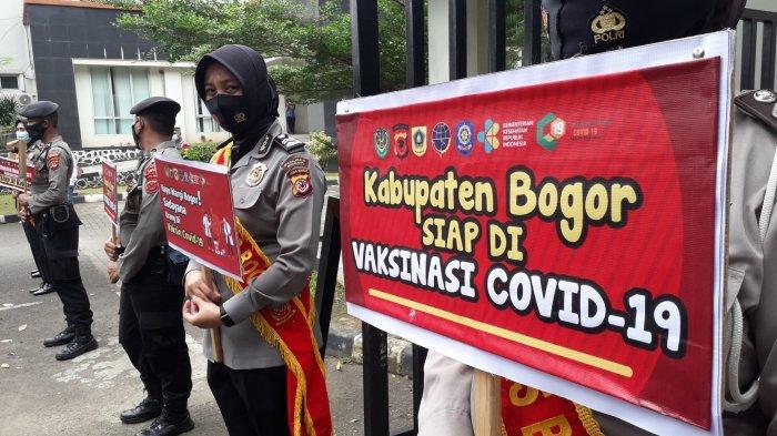 Capaian Vaksinasi Covid-19 Kabupaten Bogor - Nakes Hampir 100 Persen, Lansia Baru 6,8 Persen